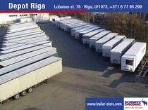 Surface de vente Schmitz Cargobull Latvija SIA