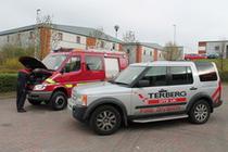 Surface de vente Terberg DTS UK Ltd – Fire & Rescue Division